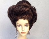Haunted Mansion Inspired Victorian Gibson Girl Adult Costume Wig