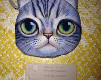 Cat kitty coin purse kitten wallet kitty cat