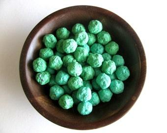 Kelly Green Flower Seed Bomb - Emerald Green Wedding Favors - Garden Wedding Favor