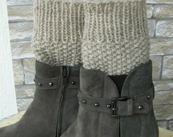 Instant Download Knitting Pattern PDF Knit Boot Cuffs pattern Digital Boot Toppers Knitting PATTERN  Boot Cuffs Boot Topper Knit Pattern