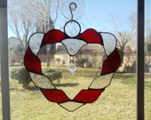 ribbon heart suncatcher