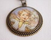 fairy necklace, woodland fairy jewelry, woodland fantasy elf necklace