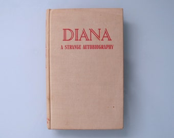 Vintage Lesbian Fiction, DIANA a Strange Autobiography, Diana Frederics HC 1939 Citadel Press