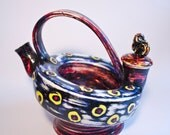Circle Multicolored Teapot - Free Shipment in US!