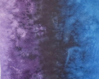 Hand Dyed Fabric Gradient - Twilight