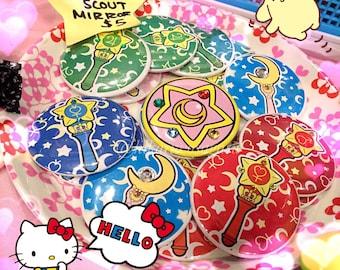 Sailor Senshi 2.25 Buttons/Pins