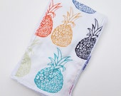 Pineapples Baby Gift - Trendy Burp Cloth Burpie - Boutique Baby Gift - Layette Gift - Hawaii Baby - Gender Neutral Baby Gift - Maui, Hawaii