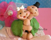 Collectible Turtles Hugging Cake Topper Keepsake Figurine for Wedding and Anniversary