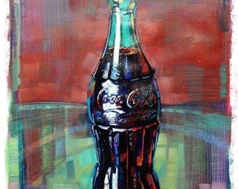 Coke Art Coca-cola illustration