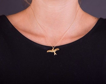 Seagull pendant etsy seagull pendant necklac mozeypictures Gallery