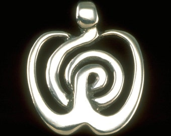 Eve Pendant / Necklace - Goddesses, Mothers & Daughters Collection - Sterling Silver Jewelry