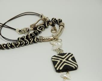 Batik Necklace