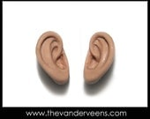 Mold - Ear set No.1 ( Approx 0.6 cm x 1.2 cm) by Veronica Jeong