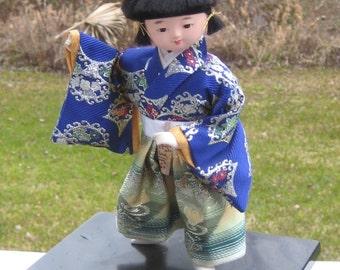 Vintage JAPANESE DOLL Kyugetsu Tokyo Japan Boy Doll