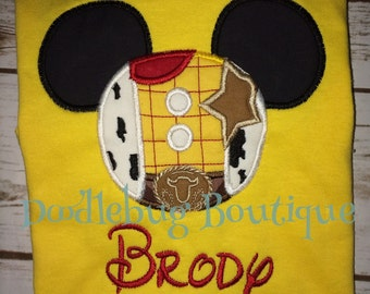 Woody Mickey Mouse Disney shirt