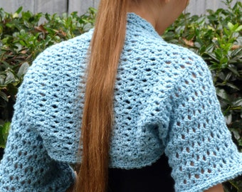 Iced Bolero - PDF Crochet Pattern - Instant Download