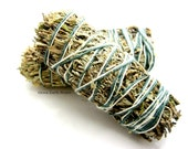 One Smudge Stick, Desert Sage, Cedar, Sweetgrass, Energy Cleanse, Ritual, Metaphysical, Cleansing,
