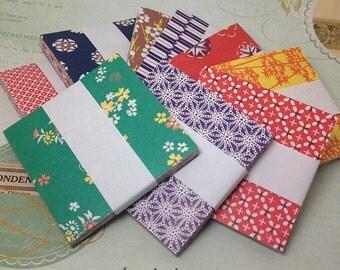 Origami Paper, Chiyogami Paper, Japanese Washi Paper (96) papier japonais