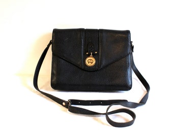 Vintage Blue Etienne Aigner Leather Purse