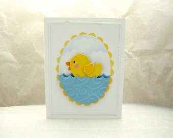 New Baby Card, Happy New Baby, Baby Boy Card, Welcome Baby, Congratulations on the New Baby, New Little Brother, Baby Announcement, Baby Boy