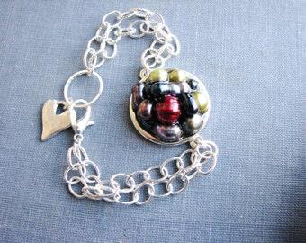 Pearl Bracelet Fresh Water Pearl Bracelet Multicolor Pearls Real Pearl Bracelet Pearl Chain Bracelet Unique Jewelry Pearl Jewelry