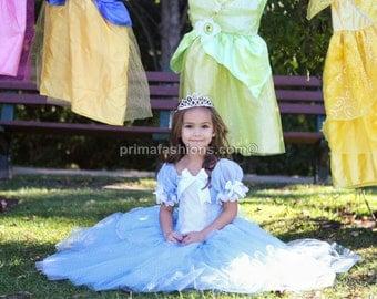 Cinderella costume FULL LENGTH, princess custom costume 6 Cinderella tutu