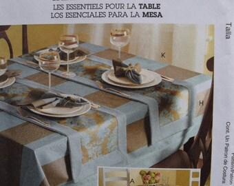 McCalls Home Decorating M5439 Tabletop Essentials (uncut)