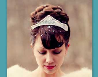 wedding hairpiece bun hair style accessory large Bridal hair piece wedding formal headpiece wedding hair wig UpDo chignon your color