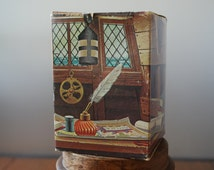 Vintage Avon Inkwell Decanter - Aftershave - Windjammer - NIB - Nautical - Federal Style
