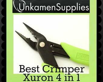 Best Crimper - Xuron 4 in 1 - Free Sample of Crimps and Wire Included - Professionally Prepped - 100% Guarantee