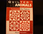 Quilted Animals Quilt Book by Marta Amundson - New _ Never Used