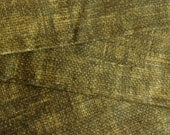 Cloth Napkins - Faux Burlap - Olive - 100% Cotton