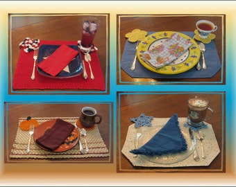 Seasons of Coasters e-book Pattern