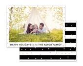 Astor Photo Holiday Card