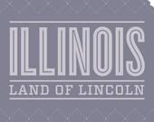 Illinois Poster print - 11 x 17