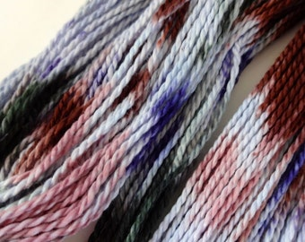Through the Fog Hand Dyed Perle Cotton Size 3