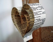 Wedding decoration x 10, Upcycled Wedding, Books, Unique Weddings, Pew Ends