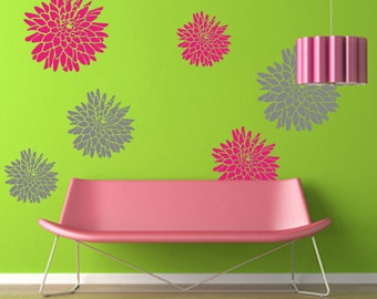 Mums Wall Decal - Vinyl Wall Decals