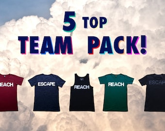 5 Top Team Pack - Buy 5 & Save Money