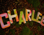 Kids Name Letters - Rustic Wall Letters - Nursery Letters