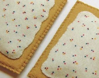 Pretend Felt Play Food - Pop Tarts, kid's play kitchen accessory