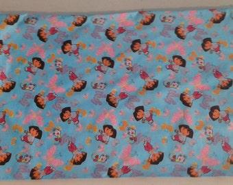 Standard size Pillowcase of Dora, Boots and butterflies 243127