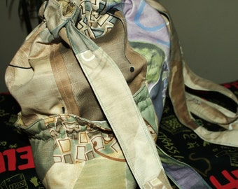 Hand Crafted By Maggie - Backpack- Water Bottle Pockets-GREAT NEW  SALE.