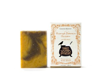 Harvest Pumpkin & Cinnamon Bar Soap 4.75 oz.