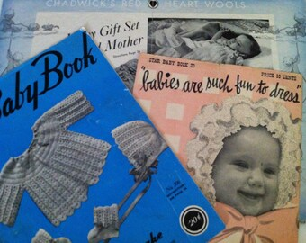 A Doreen Baby Book Volume 92 Crochet and Knitted Baby Garments Doreen Knitting Books 1945