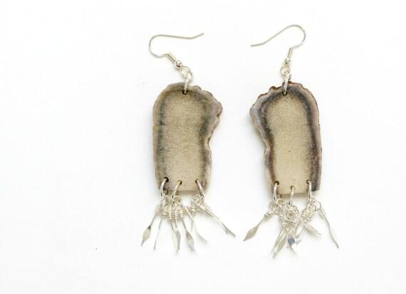Antler Fringe Earrings