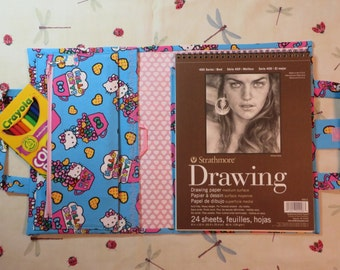 HELLO KITTY Take Everywhere Drawing Book