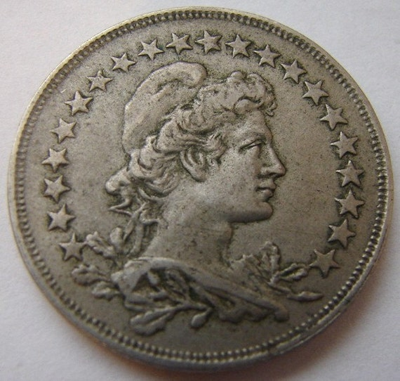Old Liberty Coins 1925 Brazil Liberty Coin Over