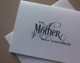 Wedding Card - To My ...White Shimmer or White Linen with Black Ink - 1.99 each