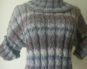 Chrome gray wool sweater no. 239